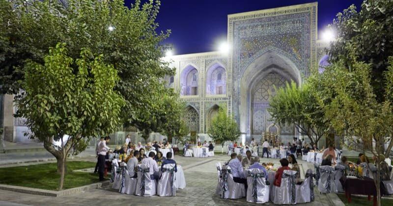 Albert Ballin Kreuzflug Event in Samarkand