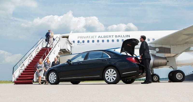 Herzlich willkommen zu Ihrem Kreuzflug im Privatjet Albert Ballin