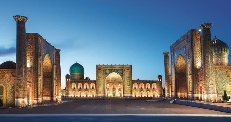 Bahn Erlebnisreise nach Samarkand