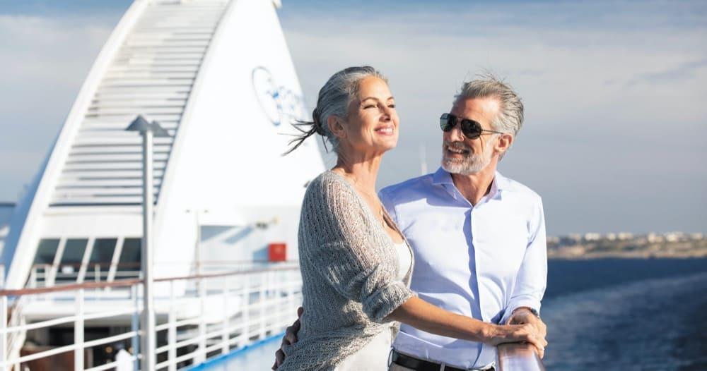 Ehepaar auf Regent Seven Seas Voyager