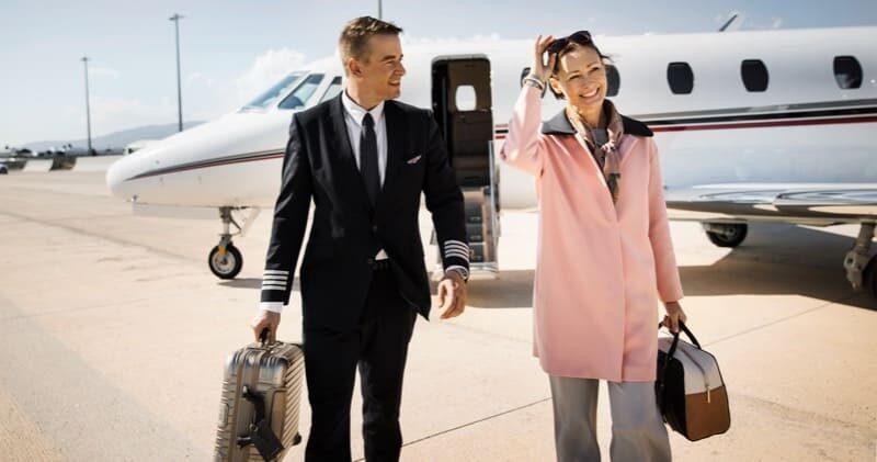 Auf Wiedersehen im Lufthansa Privatjet
