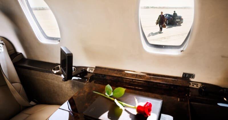 Gehen Sie an Bord Ihres Lufthansa Private Jets