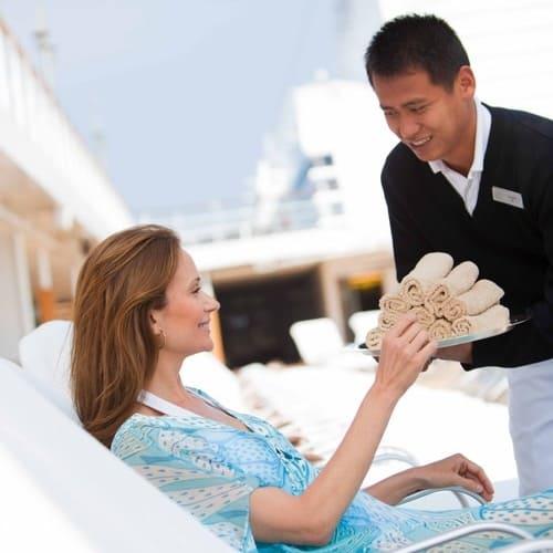 Butler Service bei Regent Seven Seas