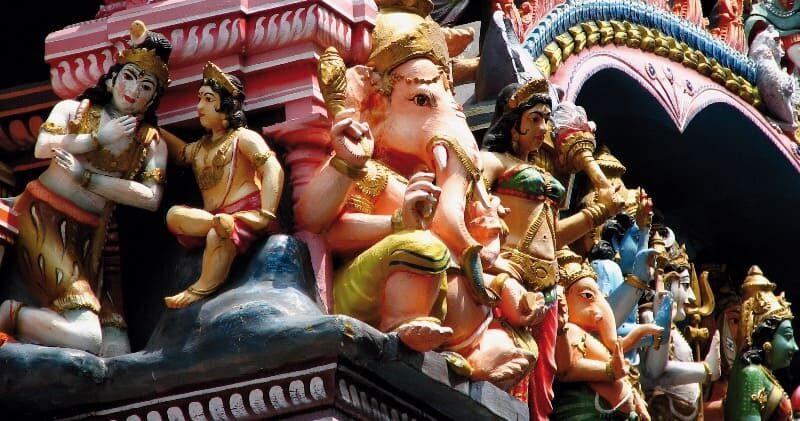 Sri Lanka Tempel Relief